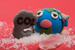 地球と二酸化炭素1